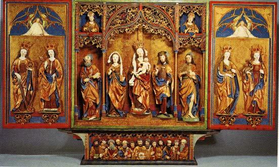 Igl altar da Strigel