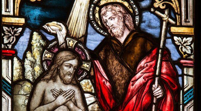 Gedanken zur Taufe des Herrn B (Mk 1,7-11)